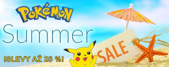 Letní výprodej Pokémoních produktů