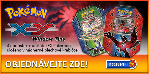Pokémon XY Window Tins