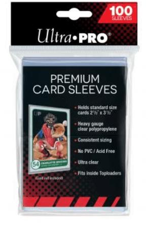 Levně Obaly na karty Ultra Pro Průhledné - Premium