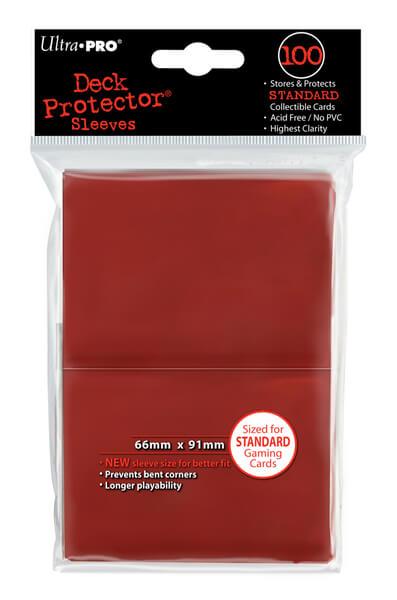 "Obaly na karty Ultra Pro New ""Red"" 2x50ks"