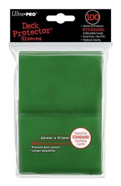 "Obaly na karty Ultra Pro New ""Green"" 2x50ks"