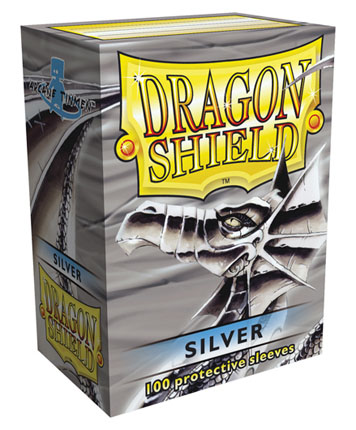 Obaly na karty Dragon Shield Protector - Silver - 100ks