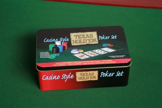 Casino Style Pokerset