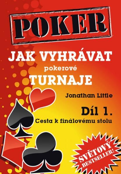 Poker kniha Jonathan Little: Jak vyhrávat pokerové turnaje