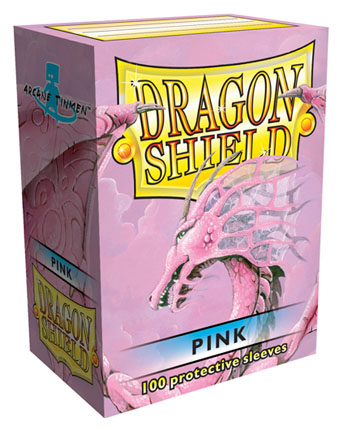 Obaly na karty Dragon Shield Protector - Pink - 100ks