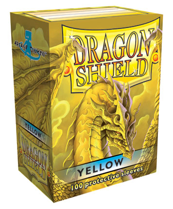 Obaly na karty Dragon Shield Protector - Yellow - 100ks