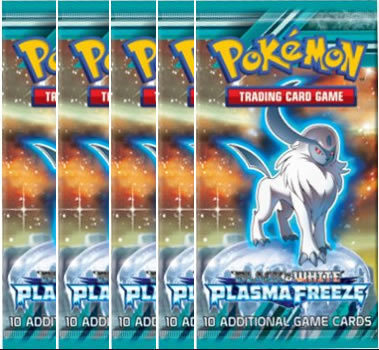 Pokémon Black and White - Plasma Freeze 5xBooster + 1 ZDARMA