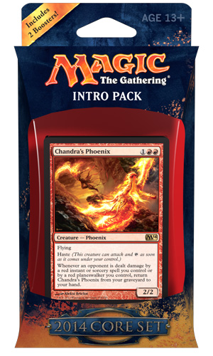 Magic the Gathering Magic 2014 Core Set Intro Pack: Fire Surge