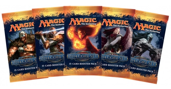 Magic 2014 boosters