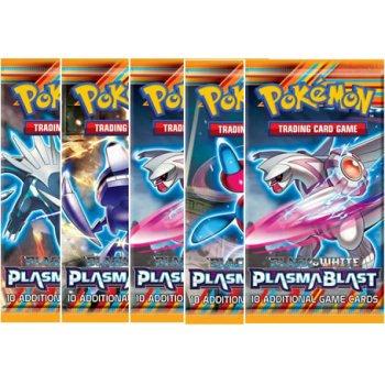 Pokémon Black and White - Plasma Blast 5xBooster + 1 ZDARMA