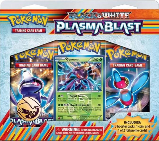 Pokémon Black and White - Plasma Blast 3 Pack Blister