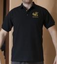 Černá Magic polo košile CMUS velikost M