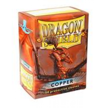 Obaly na karty Dragon Shield Protector - Copper - 100ks