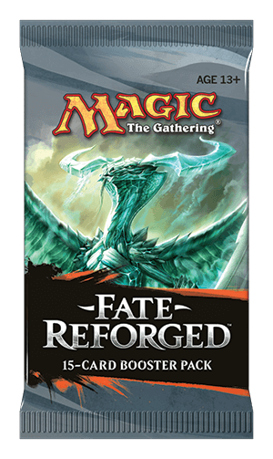 Magic the Gathering Fate Reforged Booster
