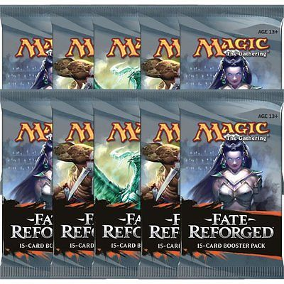 Magic the Gathering Fate Reforged 18 boosterů + krabice na karty