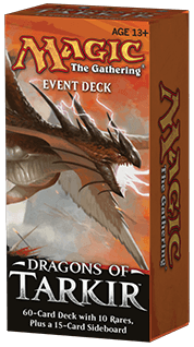 Magic the Gathering Dragons of Tarkir - Event Deck