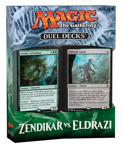 Magic the Gathering Zendikar vs. Eldrazi Duel Decks