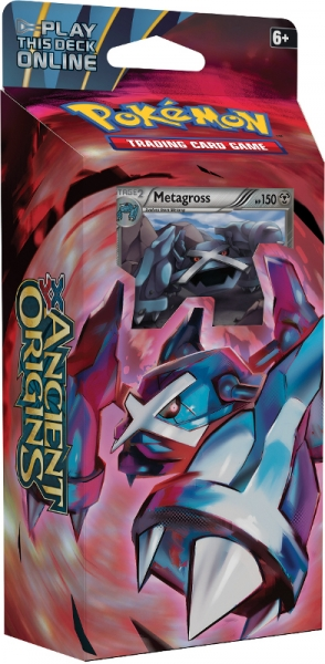 Pokémon XY - Ancient Origins PCD - Iron Tide - Metagross