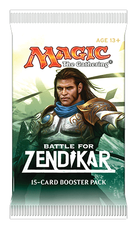 Magic the Gathering Battle for Zendikar Booster