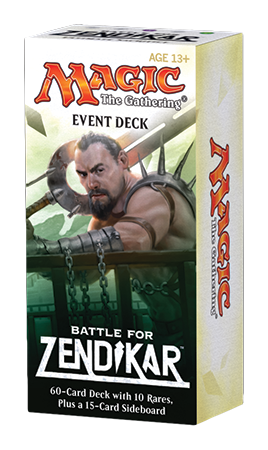 Magic the Gathering Battle for Zendikar - Event Deck