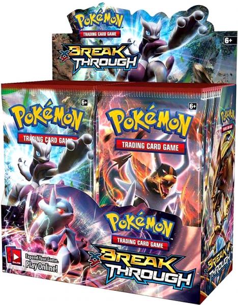 Pokémon XY - Break Through Booster Box