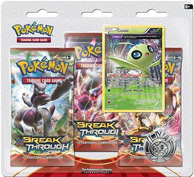 Pokémon XY - Break Through 3 Pack Blister