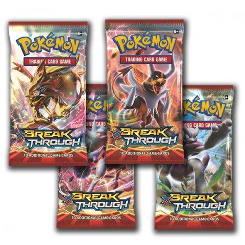 Pokémon XY - Break Through - boostery