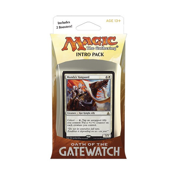 Magic the Gathering Oath of the Gatewatch Intro Pack: Desperate Stand