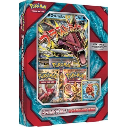 Pokémon Shiny Mega Gyarados Box
