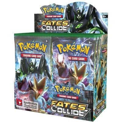 Pokémon XY - Fates Collide Booster Box