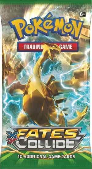 Pokémon XY - Fates Collide Booster