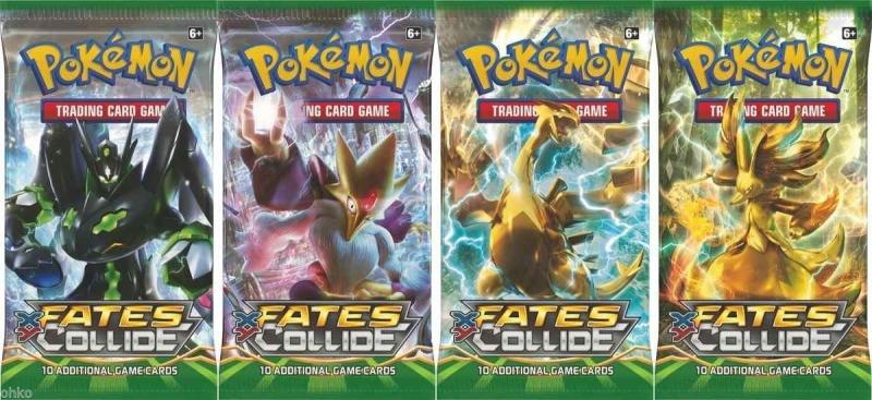 Pokémon XY - Fates Collide 6xBooster akční cena