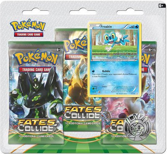 Pokémon XY - Fates Collide 3 Pack Blister