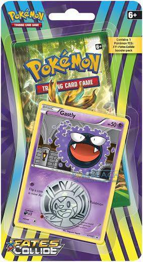 Pokémon XY - Fates Collide Check Lane Blister