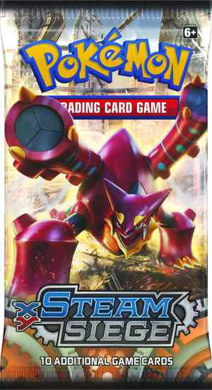 Pokémon XY - Steam Siege Booster