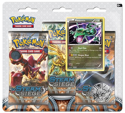 Pokémon XY - Steam Siege 3 Pack Blister