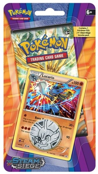 Pokémon XY - Steam Siege Check Lane Blister