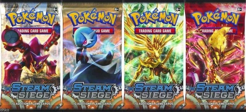 Pokémon XY - Steam Siege 6xBooster akční cena