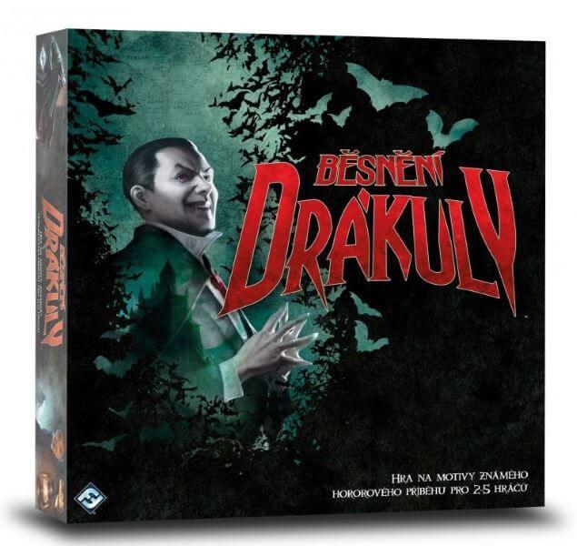 Levně Desková hra Běsnění Drákuly (Fury of Dracula) v češtině