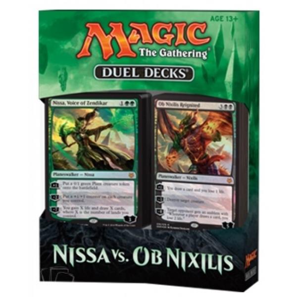 Magic the Gathering Nissa vs. Ob Nixilis Duel Decks