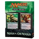 Magic the Gathering Nissa vs. Ob Nixilis Duel Decks