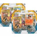 Pokémon Sun and Moon 3 Pack Blister