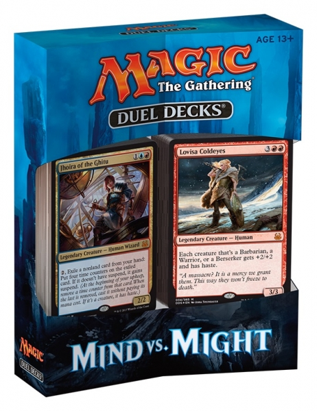 Magic the Gathering Mind vs. Might Duel Decks