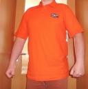 Oranžové polo tričko s logem Poker-Arena.cz, velikost M, L, XL, XXL