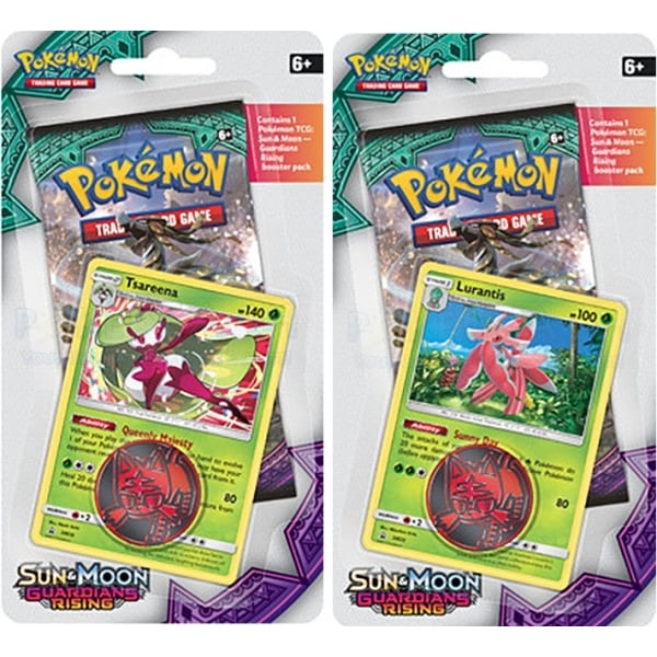 Pokémon Sun and Moon - Guardians Rising Check Lane Blister
