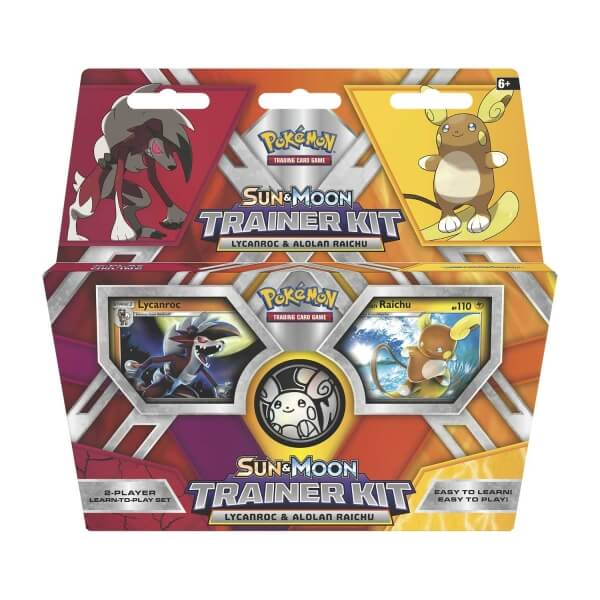 Pokémon - Sun and Moon 2 Player Trainer Kit - Lycanroc and Alolan Raichu
