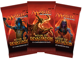 Magic the Gathering Hour of Devastation Booster