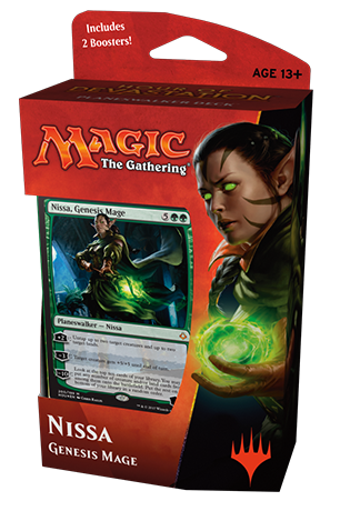 Magic the Gathering Hour of Devastation Planeswalker Deck: Nissa, Genesis Mage
