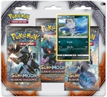 Pokémon Sun and Moon - Burning Shadows 3 Pack Blister - Meowth
