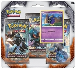 Pokémon Sun and Moon - Burning Shadows 3 Pack Blister - Cosmog